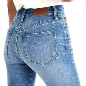 Madewell The Perfect Vintage Jean Frayed Hem